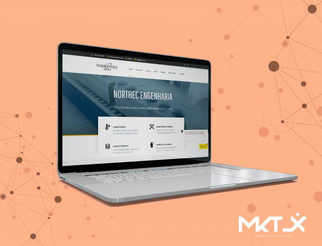 WebSite Northec Engenharia