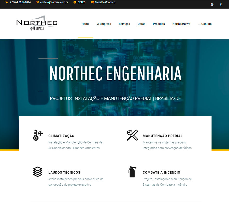 Case Northec Engenharia